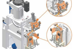 Système d'ensachage à fluidification à valve