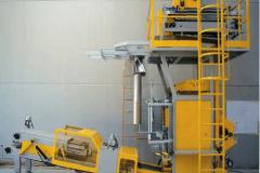 Ensacheuse verticale + presse sacs