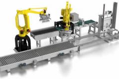 Synoptique robot de palettisation